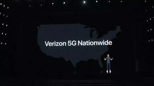 Verizon 5G Ülke Çapında