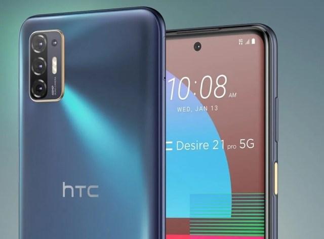 HTC Desire 21 Pro 5G cameras