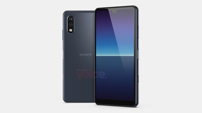 Sony Xperia Compact leaked render