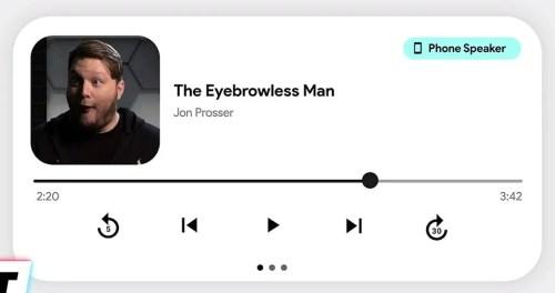 Android 12 new music widget