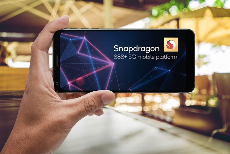 A phone with Snapdragon 888 Plus chip