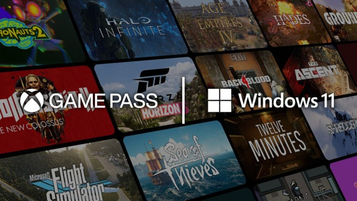Windows 11 and Xbox Game Pass with games in the backgroundWindows 11 new features, dark mode, and many more. Windows 11 system requirementswindows 11 download