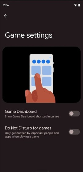 Android 12 Game Settings