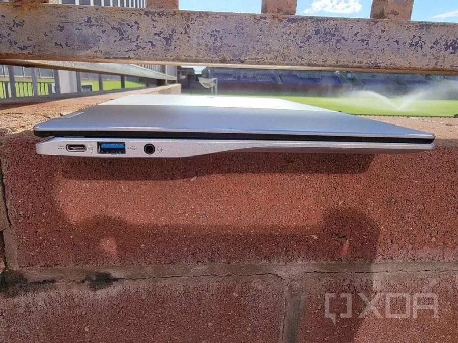 Acer Spin 513 left side