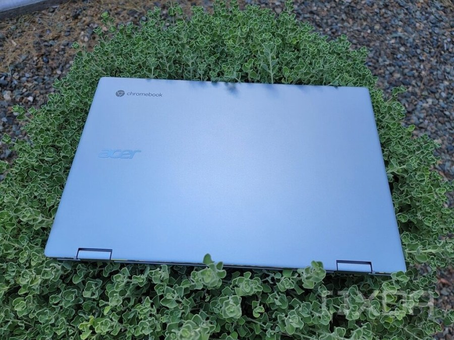 Acer Spin 513 aluminum lid