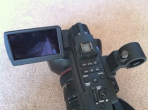 LCD-Left-300x224 Canon XF305 Review with sample footage.