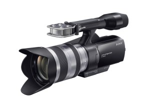 NEX-VG10-300x210 Sony NEX-VG10 APS-C Camcorder Launched, available September.