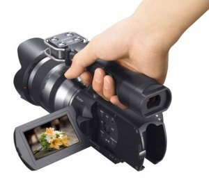 NEX-VG10_5-300x272 Sony NEX-VG10 APS-C Camcorder Launched, available September.