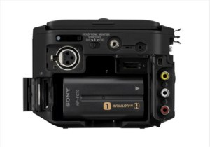 fs-100-rear-300x210 Sony FS-100 Super 35mm NXCAM Camcorder Announced.
