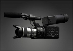 fs100-1-300x210 Sony FS-100 Super 35mm NXCAM Camcorder Announced.
