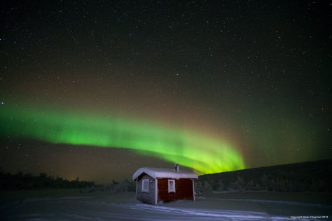 rainbow-over-single-cabin-1024x682 Northern Lights Expeditions for 2016.