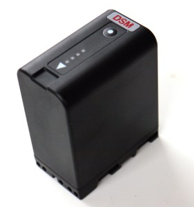 DSM-U65-84-Fuel-GaugeMR-281x300 New Batteries for PMW-200, 150, 100, F3, EX1R, EX1 and EX3