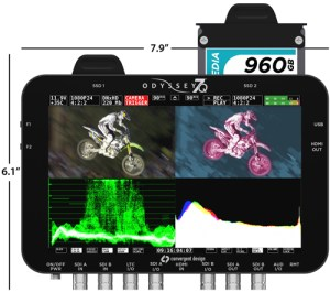 ODYSSEY7Q_dim-300x265 Convergent Design Odyssey7 and Odyssey7Q. It's a monitor but not as we know it!