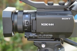 Sony's new baby XDCAM camcorder, the PXW-X70.