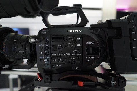 DSC04422 Sony's new PXW-FS7. First Impressions.
