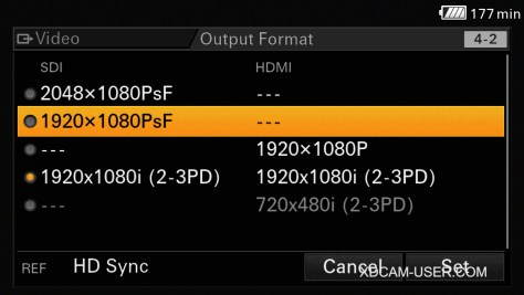 FS7-Output-Settings-1024x576 Ultimate Guide for Cine EI on the Sony PXW-FS7