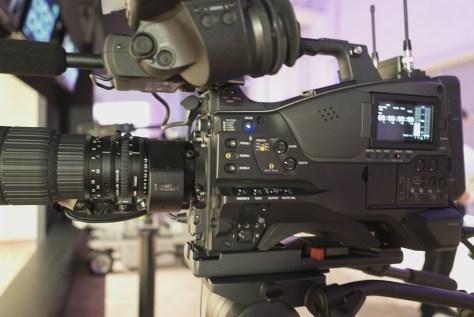 """DSC00653-1024x684 News from NAB - Sony PXW-Z450. 4K, 2/3"""" shoulder cam, X400 to get 4K option."""