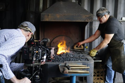 "FRY0619-1024x683 The making of ""Fire and Iron""."