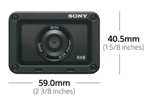 RX0 Sony RX0 - Is this the ultimate mini-cam (for now at least).