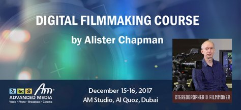 alister-wb Digital Film Making Workshop - Dubai.