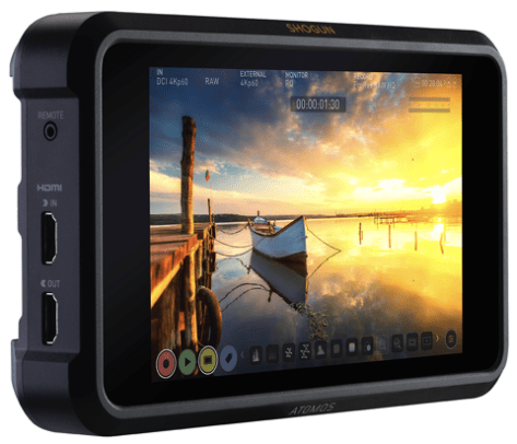 image New Atomos Shogun 7 with Dolby Vision Out and 15 stop screen.