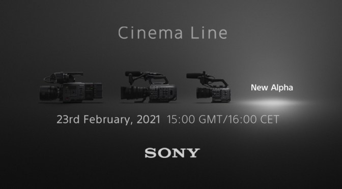 New addition to Sony's Cinema Line On The Way