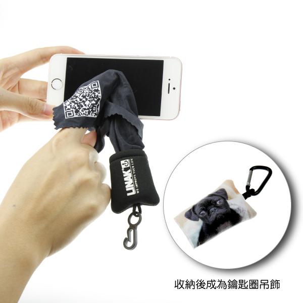 客製化印刷手機螢幕擦吊飾,造型手機擦