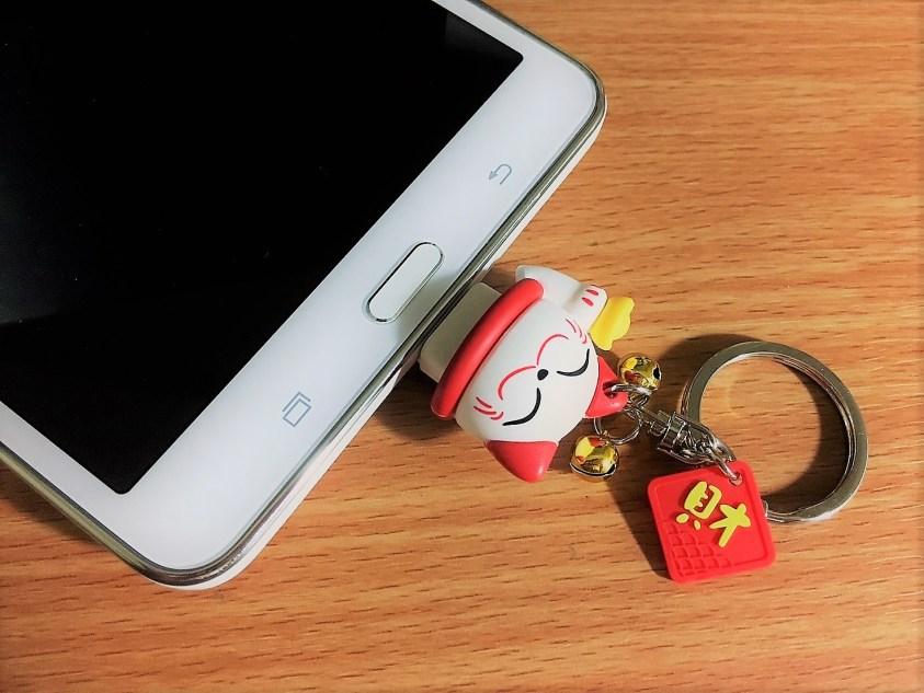 招財貓造型OTG手機隨身碟