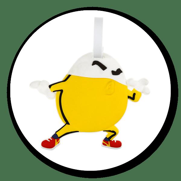 功夫蛋蛋俠 Eggtack - 行李吊牌