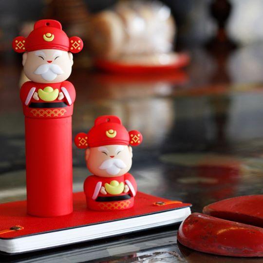 財神爺造型行動電源,新年禮物,開工禮物,開業賀禮,集比客製化商品
