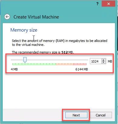 Set up VM VirtualBox for windows 7 Step 3.