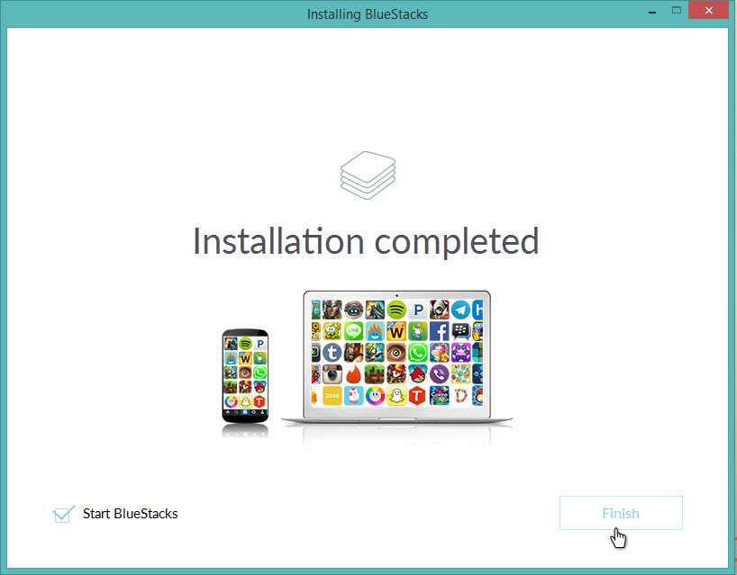 Android Apps On PC-BlueStacks
