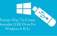 How to Create Bootable USB Drive For Windows 8 & 8.1