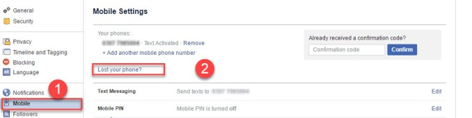 Secure Facebook Account