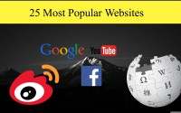 25 Most Popular Websites