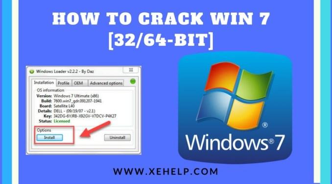 How To Crack Win 7 [3264-bit]