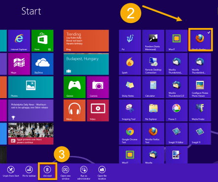 How To Uninstall Apps On Windows 8