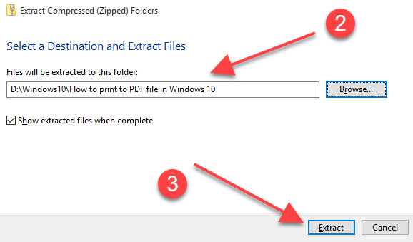 How To Unzip Files Windows 10-2