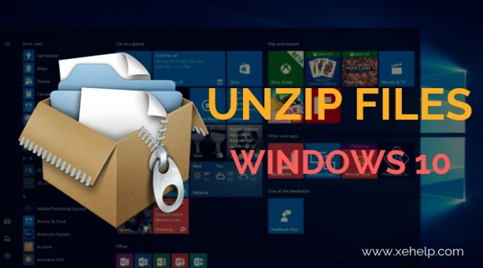 How To Unzip Files Windows 10 - Best Quick Method