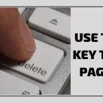 Use the Delete KeyTo Delete A Page In Word 2