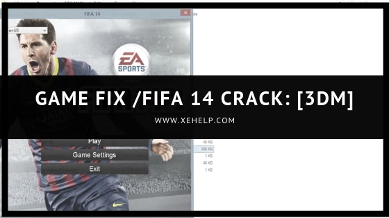 Game Fix FIFA 14 Crack