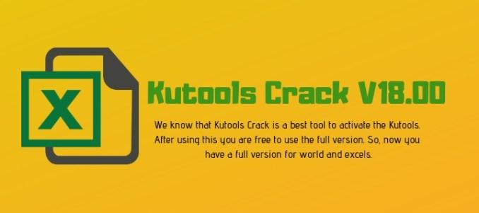 Kutools Crack V18.00