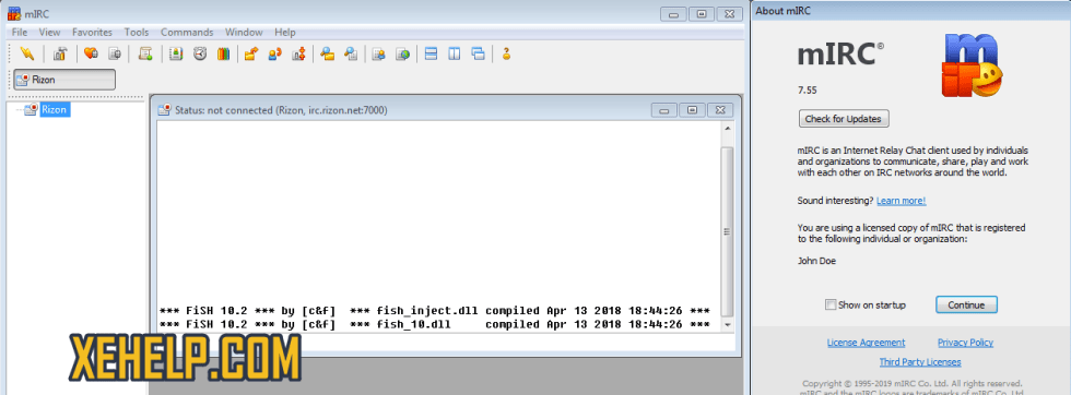 mIRC 7.55 Crack Full Version
