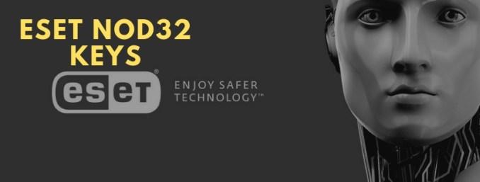 Eset Nod32 Keys antivirus 11, 10, 9 License Key 2019-2020
