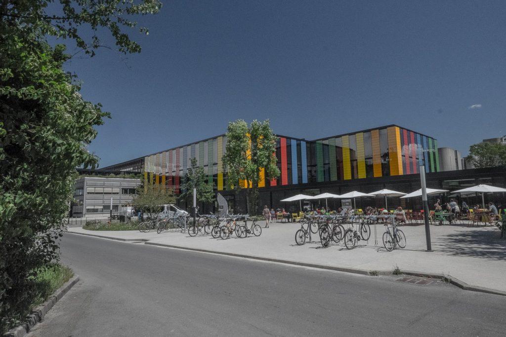moderne Architektur EPFL