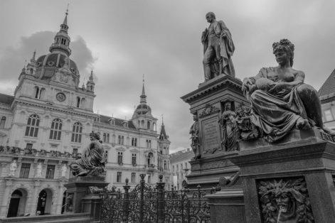 Graz, die Hauptstadt der Steiermark