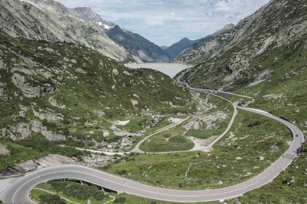 Grimsel Passstrasse