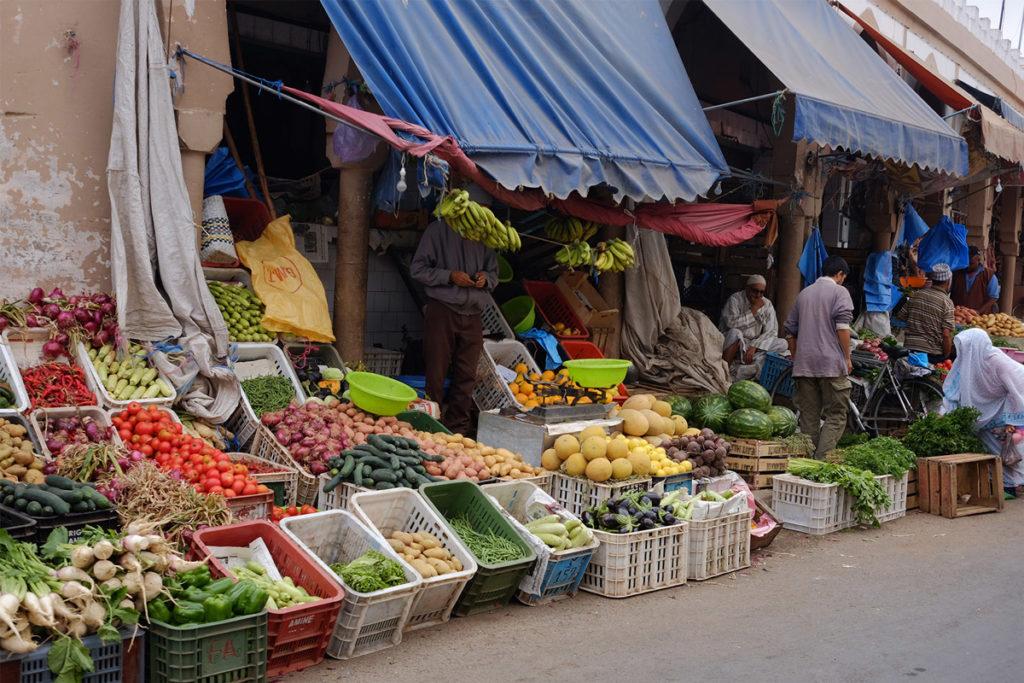 Früchtemarkt in Tiznit