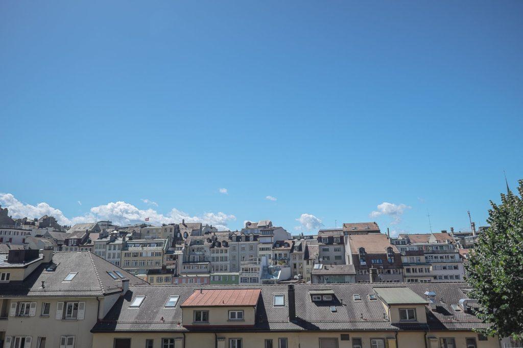 Die Stadt Lausanne