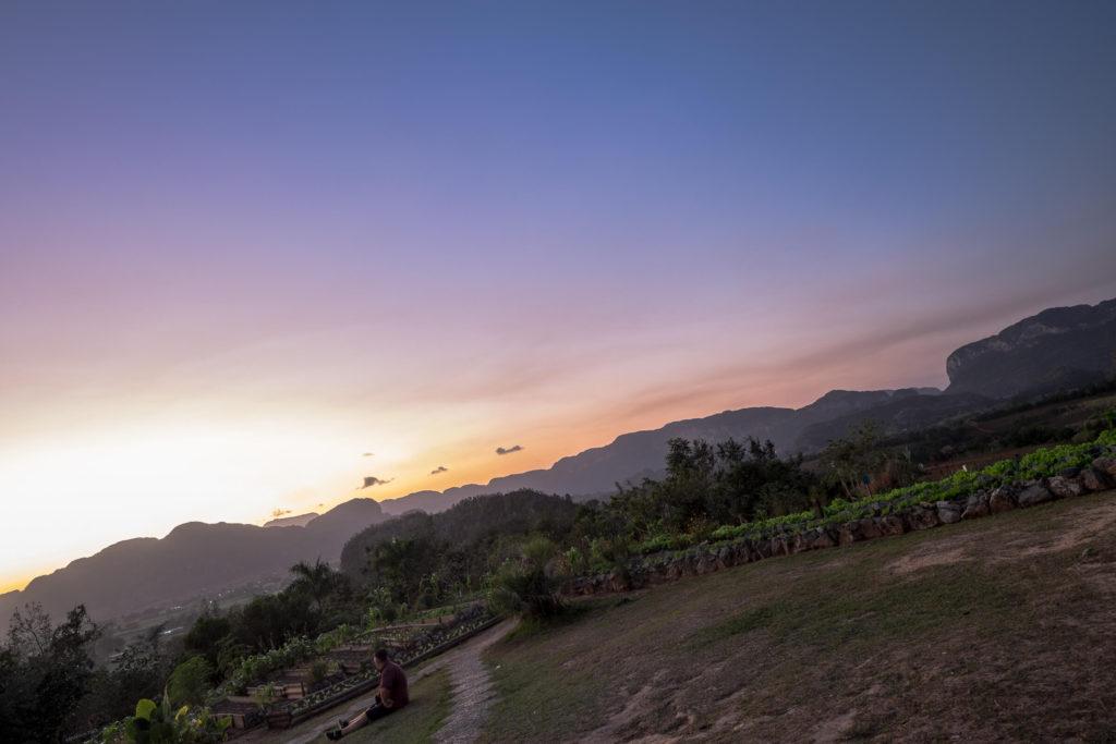 Sunset Vinales